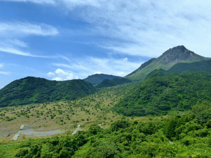 平成新山の間近を走る快走路!島原まゆやまロード