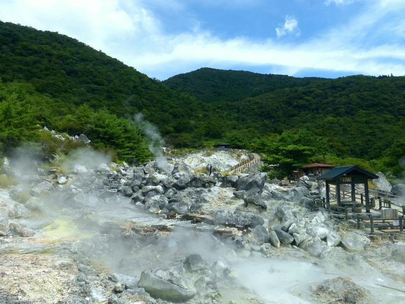 「愛野展望台」から「雲仙地獄」へ!島原半島で感じる海・山の絶景