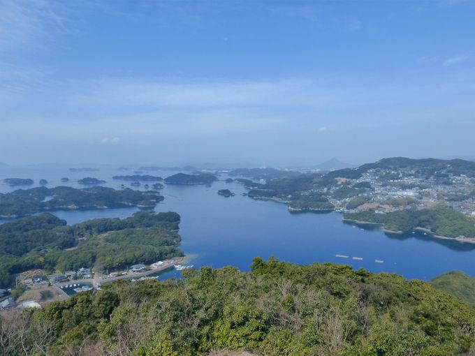佐世保・九十九島を望む絶景展望台5選!人気スポット「展海峰」も