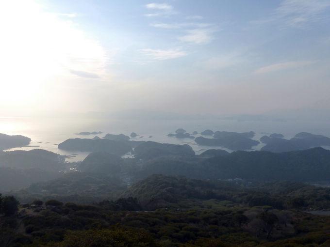 「長串山公園」から望む見事な北九十九島の絶景がこれだ!
