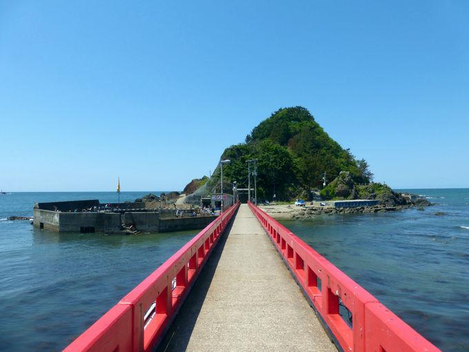 白山島から眺める素晴らしき鳥海山の絶景!