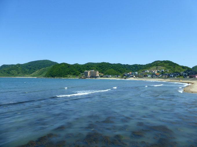 これが東北の江の島!白山島だ!