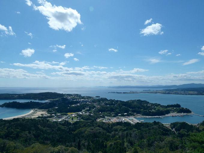 気仙沼大島に来たなら絶対ココ!「亀山展望台」の絶景