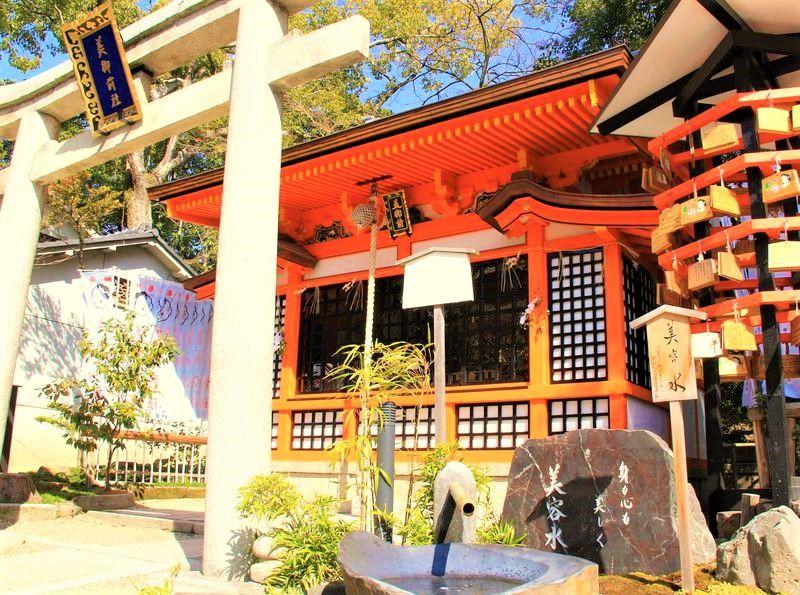 身も心も美しく!美と健康、金運・開運の最強パワースポット〜八坂神社の「美御前社」