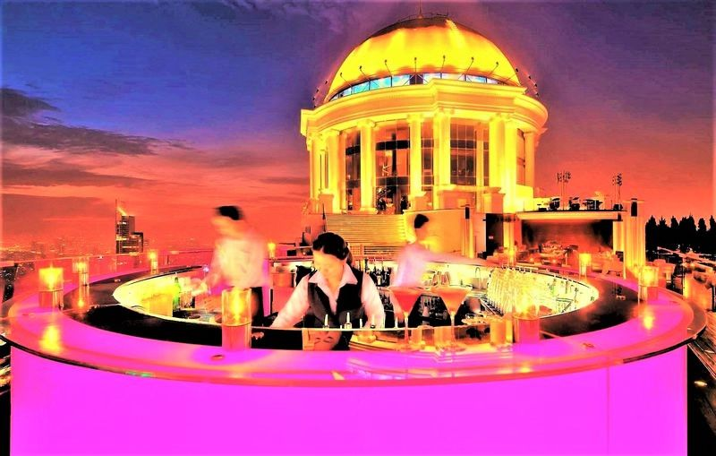 恋愛旅行・デートにおすすめ!バンコクのルーフトップバー5選