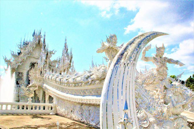 チェンマイからホワイトテンプル「ワットロンクン(Wat Rong Khun)」への行き方