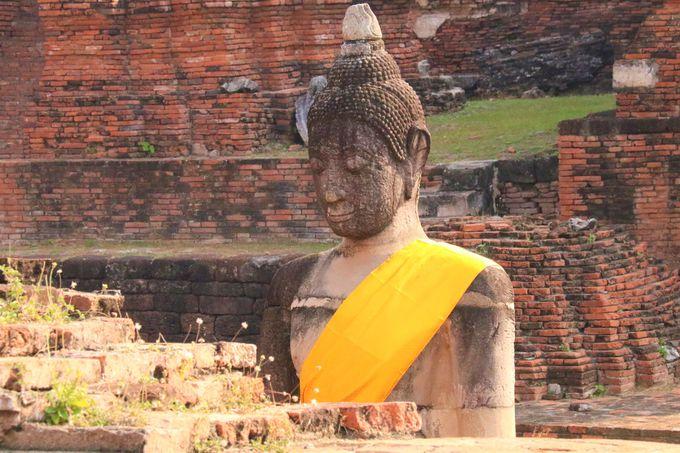 仏たちの優しい微笑!タイ人の祈りの聖地「ワット・マハータート」