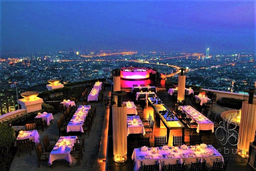 予約は必須!タイ・バンコクで最もオシャレなレストラン&ルーフトップバー「シロッコ」(SIROCCO)