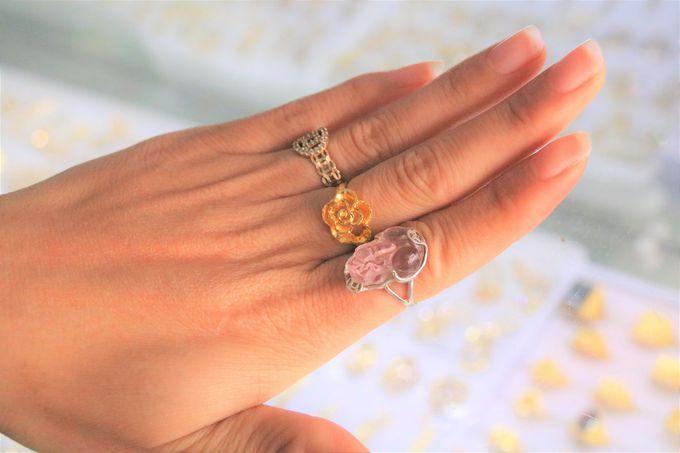 プチプラな指輪、ゴールドのリングも!外国人料金には要注意
