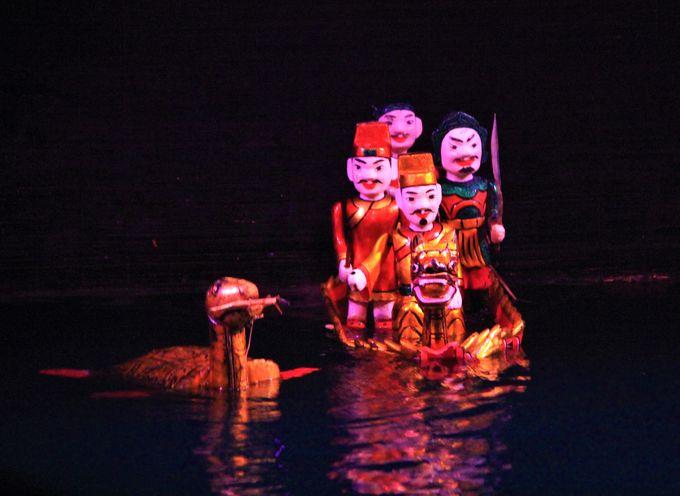 ホアンキエム湖の伝説!ベトナム皇帝と金の大亀のストーリー