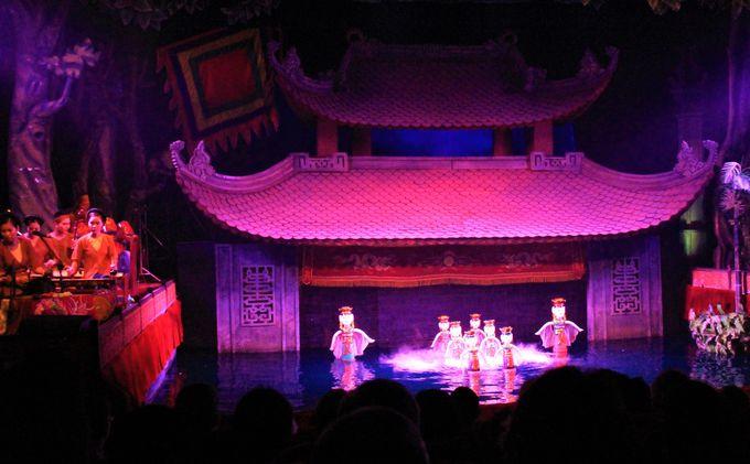 コミカルな動き かなりの迫力! ベトナム伝統芸能の水上人形劇