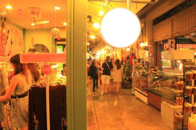 ショッピングスポットはここ!アジアティークはお買い物が楽しい