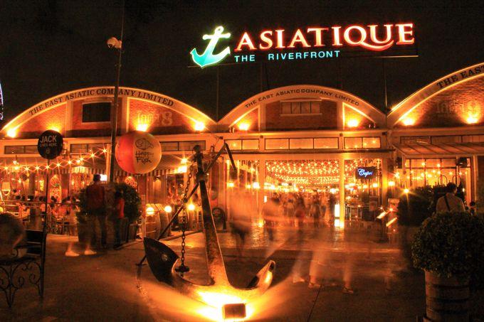 インスタ映えスポットはここ!アジアティークは夜景が美しい