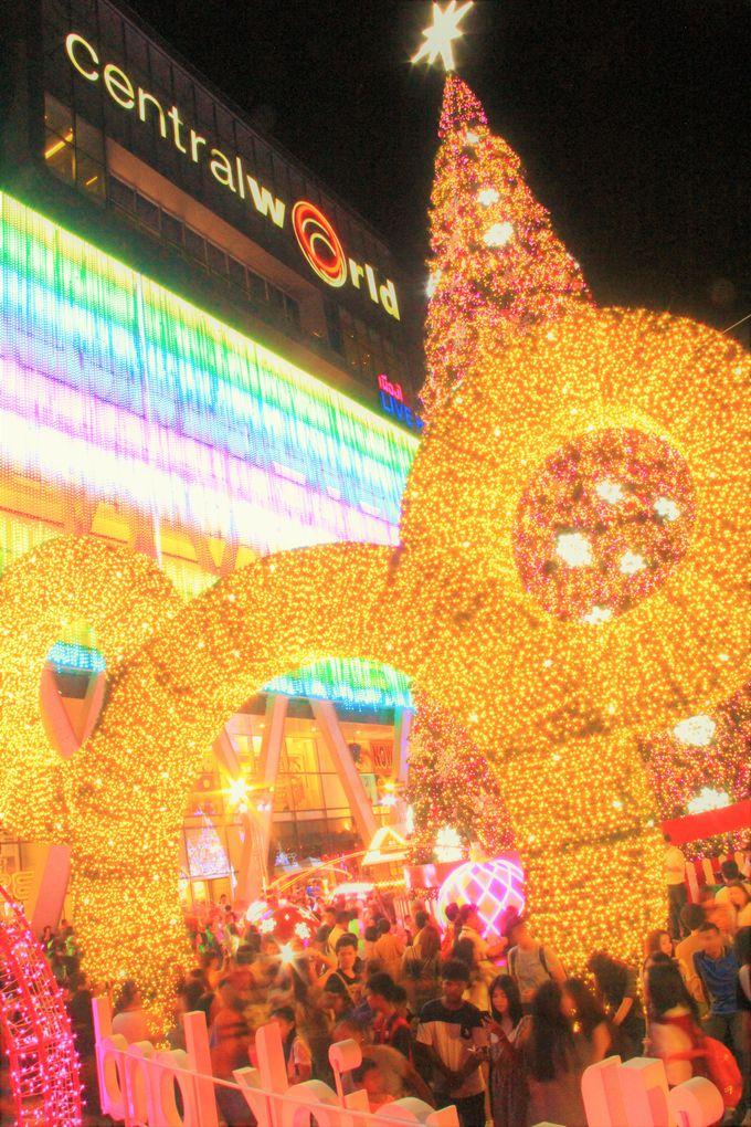 1月まで楽しめる!セントラルワールドのクリスマスは最大級