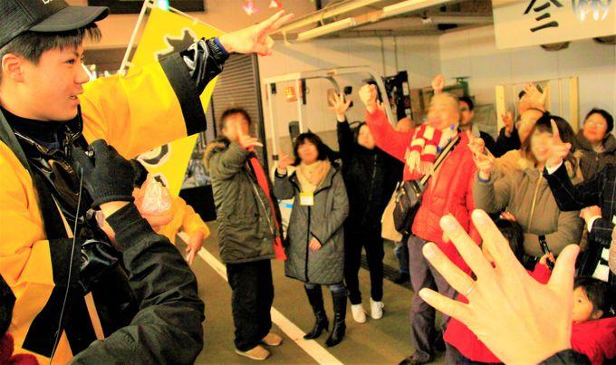 素人さんが参加できる!木津市場のセリ体験でエキサイティング
