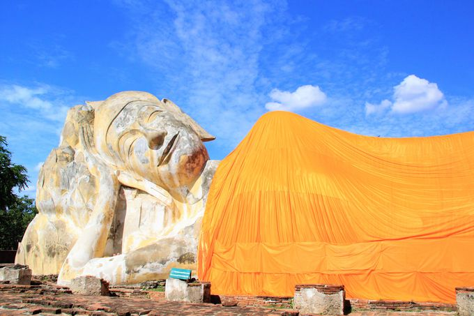 アユタヤの王室専用寺院「ワット・プラ・シーサンペット」
