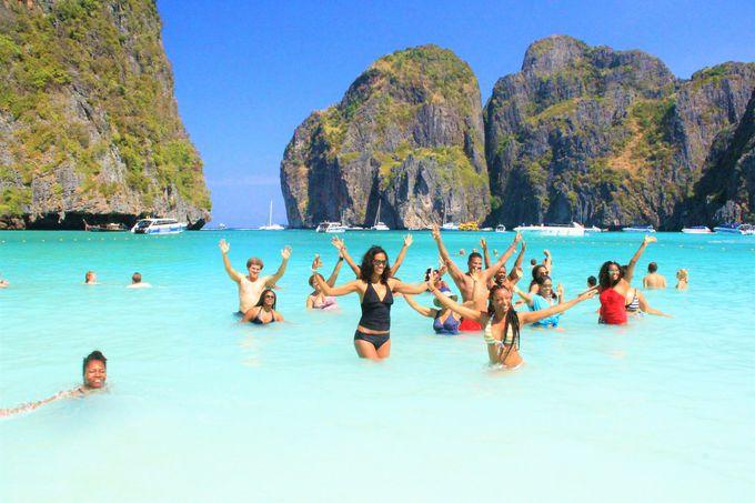 美しすぎるビーチ!ピピ・レイ島は自由を求める旅人におすすめ