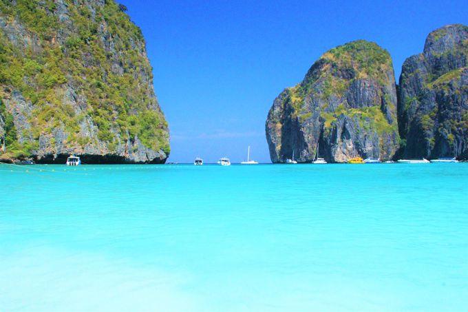 ブルーの海!美しいラグーン!神秘の島「ピピ・レイ島」