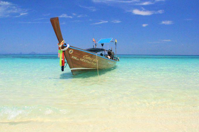 透明度バツグンの海!「バンブー島」は絶景のビーチ