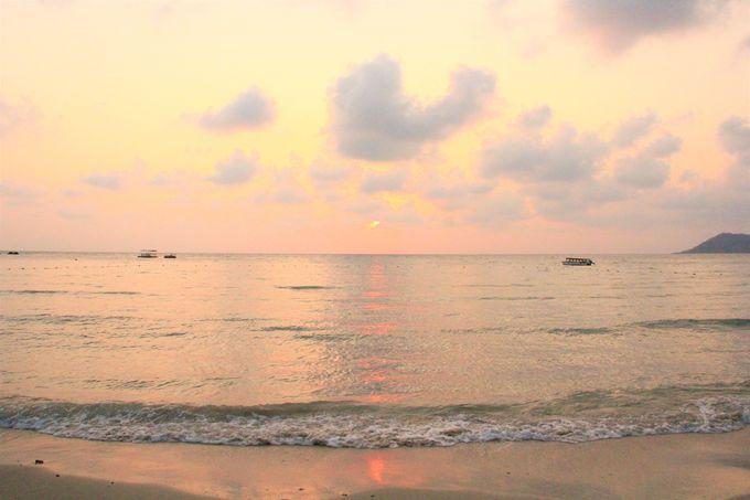 サメット島のビューポイント!島最南端/サンセット&サンライズポイント/アオ・プラオ・ビーチ