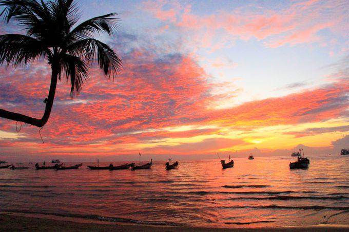 カップルにおすすめ!ナンユアン島のおすすめホテル&タオ島の夕陽