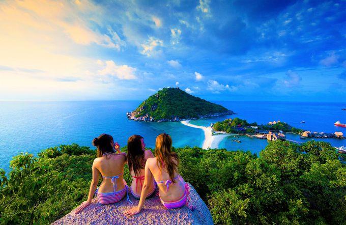 タイ・サムイ諸島の絶景!タオ島&ナンユアン島へのアクセス・行き方
