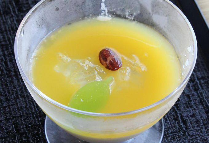 """ハッサクと豆乳の""""夏ぷりん""""は優しい味"""