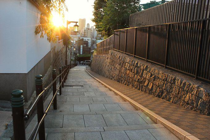 清水坂から夕陽を眺め、幸村に想いを馳せる