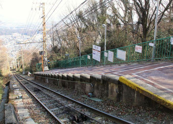 関西の秘境駅、日本最古のケーブルカー『霞ヶ丘駅』(奈良県生駒市)