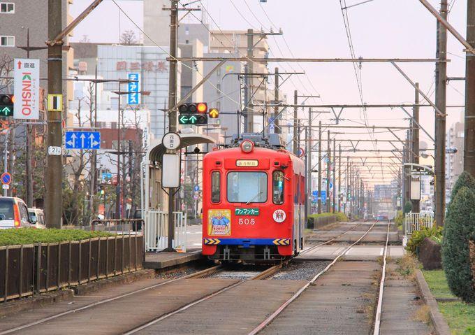 路面電車の「阪堺電車」で、のんびり旅はいかが?