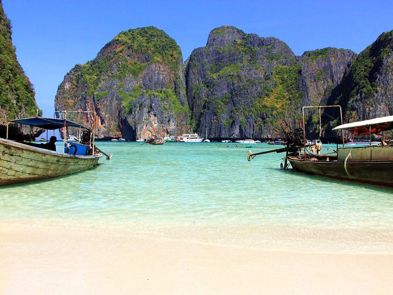 ディカプリオも魅了された『美しすぎるビーチ』【ピピレイ島・マヤ湾】