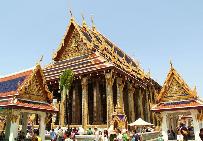 【1位】最大の見どころ!タイ人すべての信仰を集める「ワット・プラケオ」