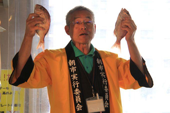 新鮮な魚に、巧みな話術【蛸仙】