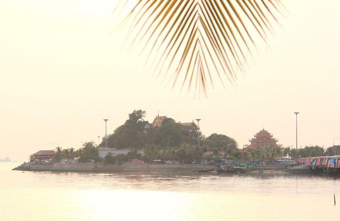 やっぱり、タイの「江の島」!?夕暮れが美しい瞑想の地