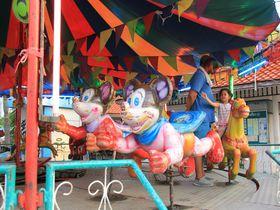 なんだか妖しげ?バンコク至近シーラーチャーの素朴な遊園地に癒されよう!