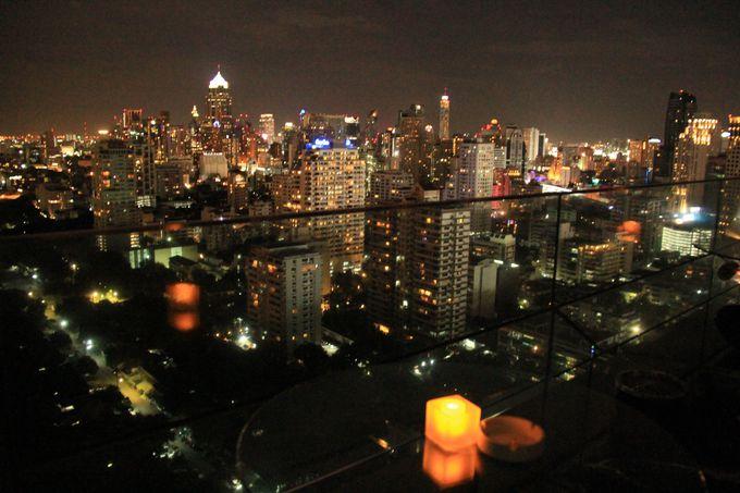 きらめくバンコクの素敵な夜景!