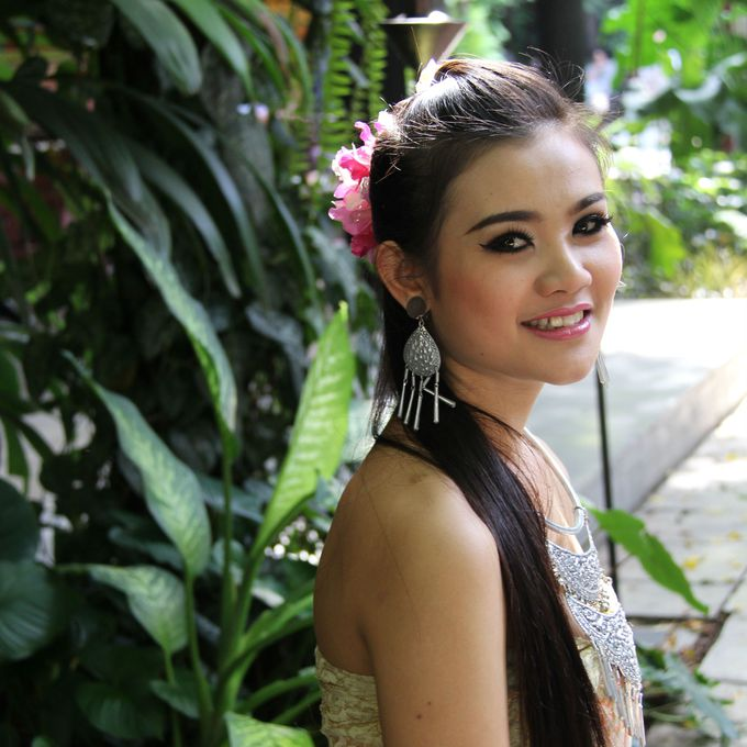 タイならではの美しい微笑みがうれしい