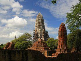 訪れたら死ぬ?タイ最古の壁画!アユタヤの廃墟「ワット・ラーチャブラナ」