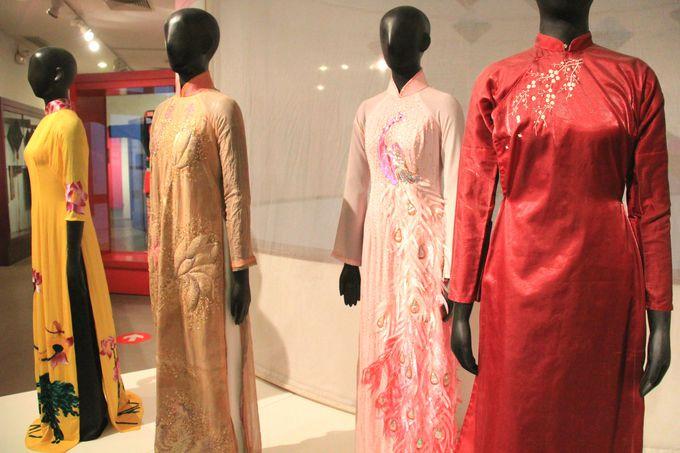時代ごとに移り変わるアオザイのファッションスタイル