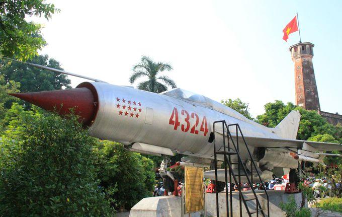 ベトナム戦争の象徴「ミグ21戦闘機」