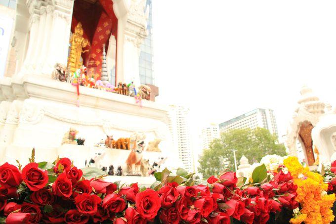 恋愛成就の神!バンコク女子に大人気「プラ・トリーム・ラティ」。