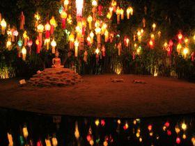 タイの仏が暮らす光と影の世界!チェンマイは闇の深さが美しい