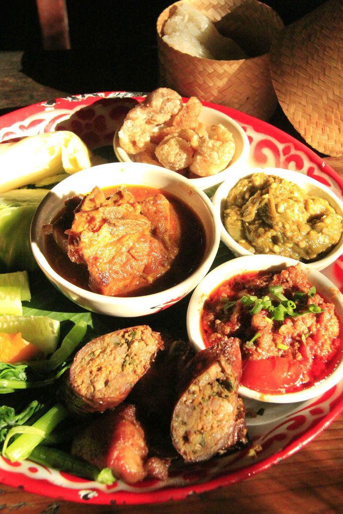 北タイの絶品グルメ「カントーク料理」