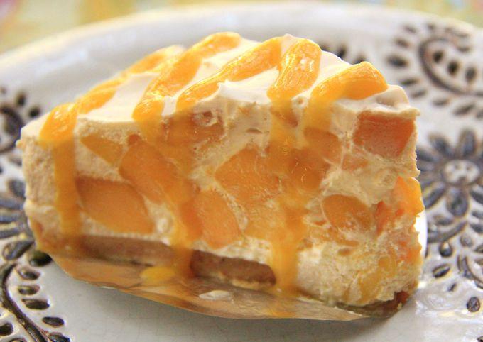チェンマイ名物の逸品!「マンゴーチーズケーキ」