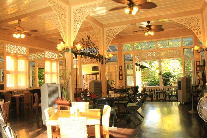 優雅な趣き!クラシカルな一軒家カフェ「サイアム・セラドン・ティー・ハウス」