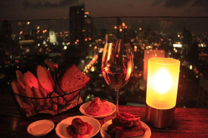 ワイン&タパスで味わう、絶景の時間