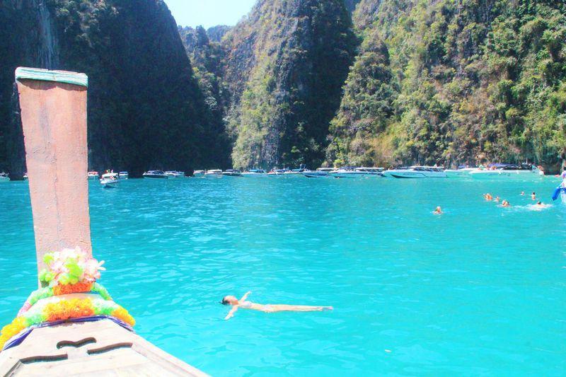タイの秘境「ピピレイ島」の超穴場!透き通る神秘のラグーン
