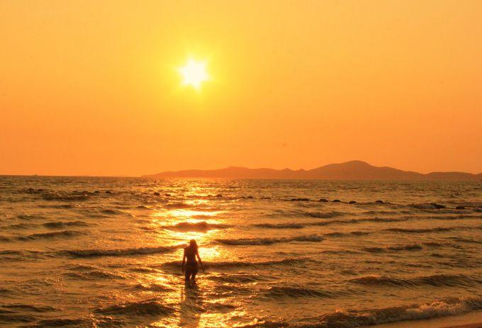 パタヤの穴場のビーチ「ジョムティエンビーチ」