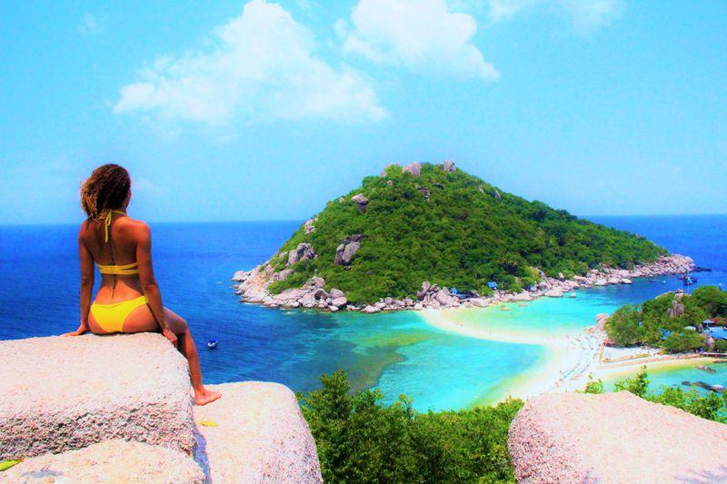 死ぬほど絶景っ〜!秘境のビーチに行きタイ「ナンユアン島」は限りなく透明に近いブルーサファイア