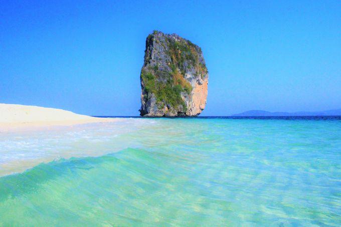 タイ航空のCMロケ地にも!クラビ随一の絶景のビーチ「ポダ島」